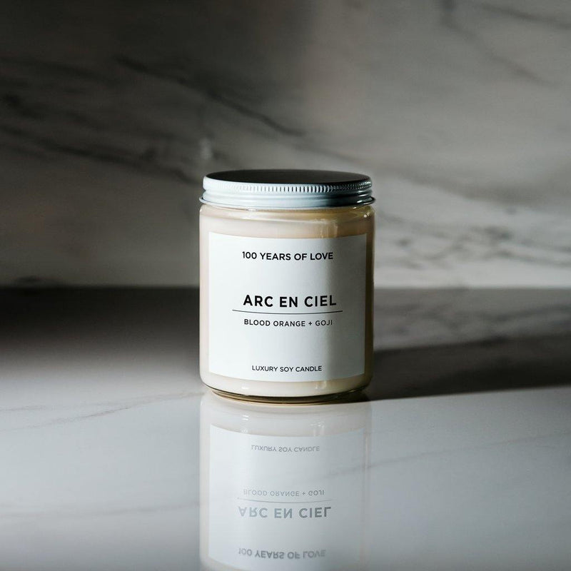 100 Years of Love Arc en Ciel Candle - Thirty Six Knots