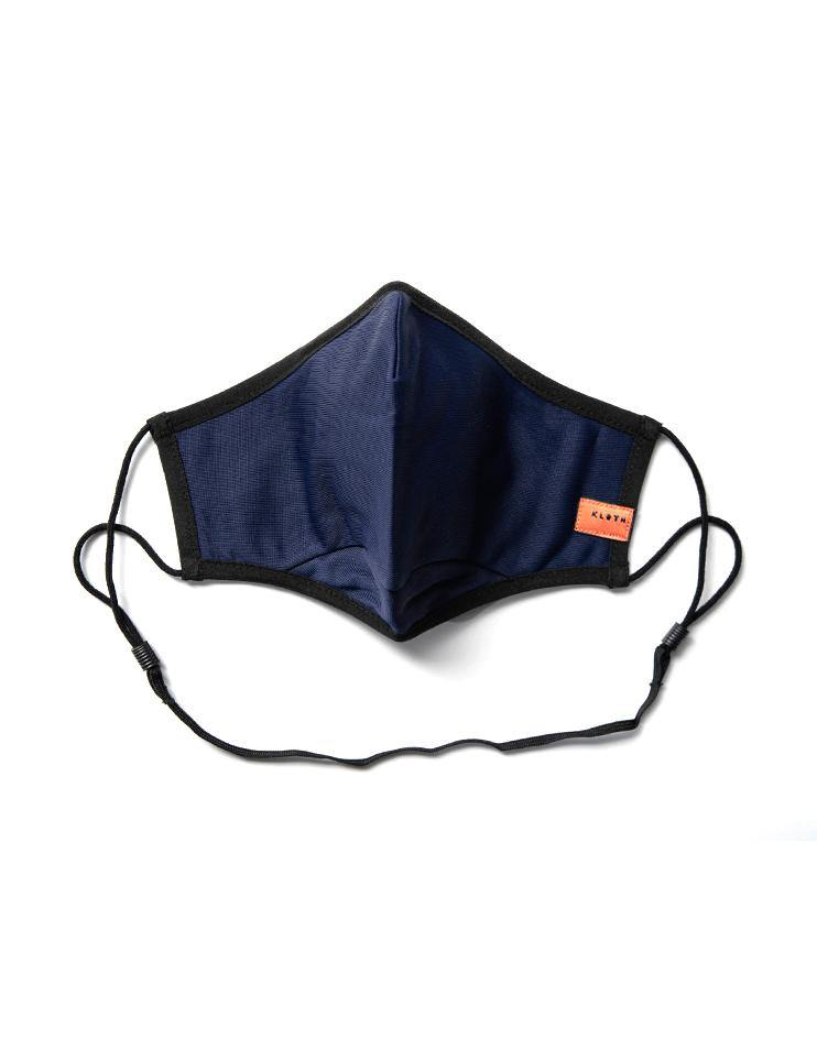 Women's Anti-Viral High Performance Face Mask in Navy Blue - Thirty Six Knots