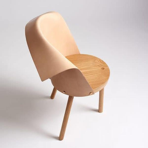 Clop Chair - 4 Legs - Natural Leather - Thirty Six Knots - thirtysixknots.com