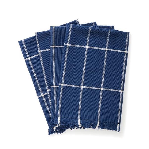 Cotton Grid Napkin - Set of 4 - Thirty Six Knots