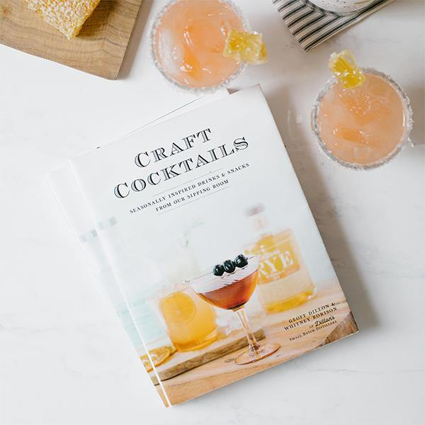 Craft Cocktails: Seasonally Inspired Drinks and Snacks from Our Sipping Room - Thirty Six Knots - thirtysixknots.com