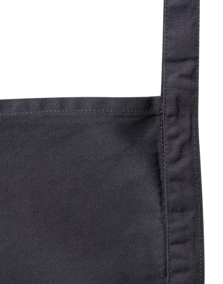 Charcoal Grey Knee-Length Bistro Apron - Thirty Six Knots