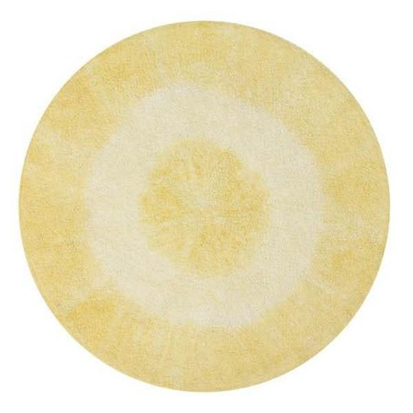 Lorena Canals Washable Rug Tie-Dye Yellow