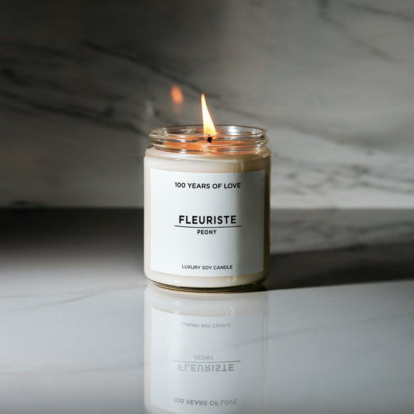 100 Years of Love Fleuriste Candle - Thirty Six Knots - thirtysixknots.com