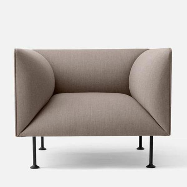 Godot Sofa Chair, Sandy Brown - Thirty Six Knots