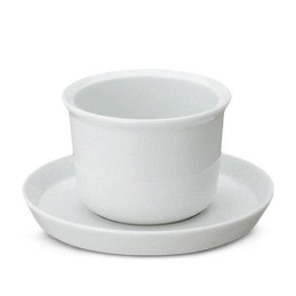 Kinto Leaves to Tea Cup & Saucer - Thirty Six Knots