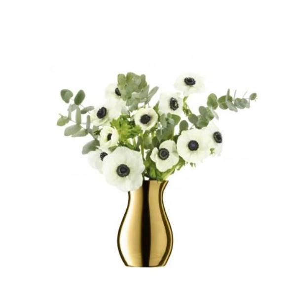 LSA International Flower Metallic Glass Posy Vase - Thirty Six Knots