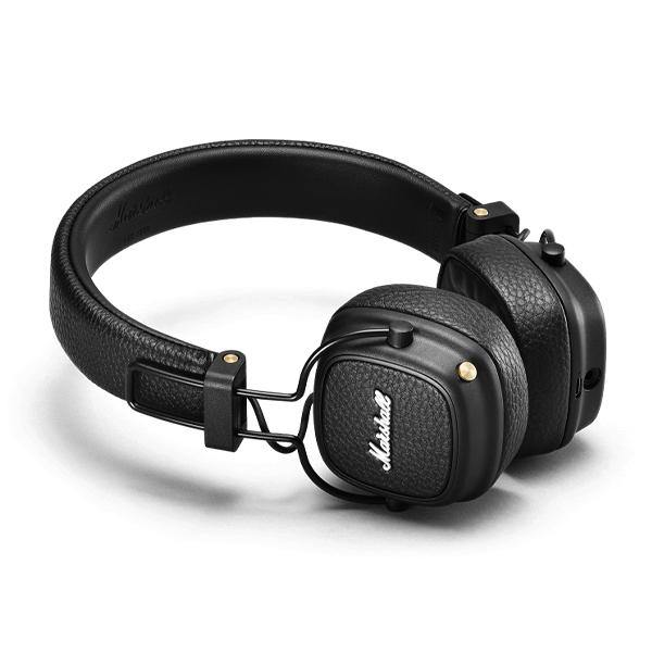 Marshall Headphones Black Major III Wireless Bluetooth - Thirty Six Knots
