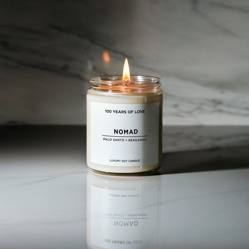 100 Years of Love Nomad Candle - Thirty Six Knots - thirtysixknots.com