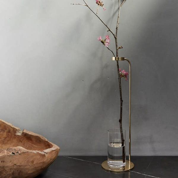 Menu Brass Stem Vase by DUBOKK - Thirty Six Knots