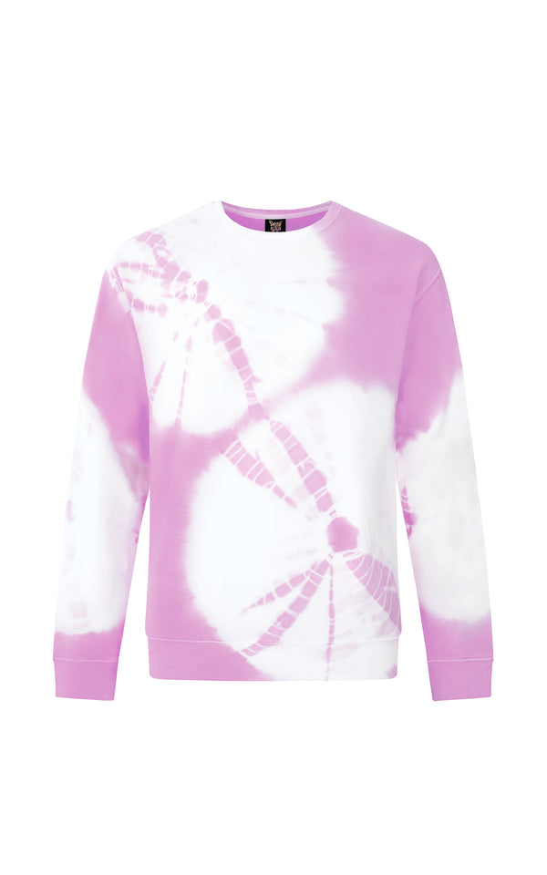 LILAC HIPPIE CLUB SWEATSHIRT