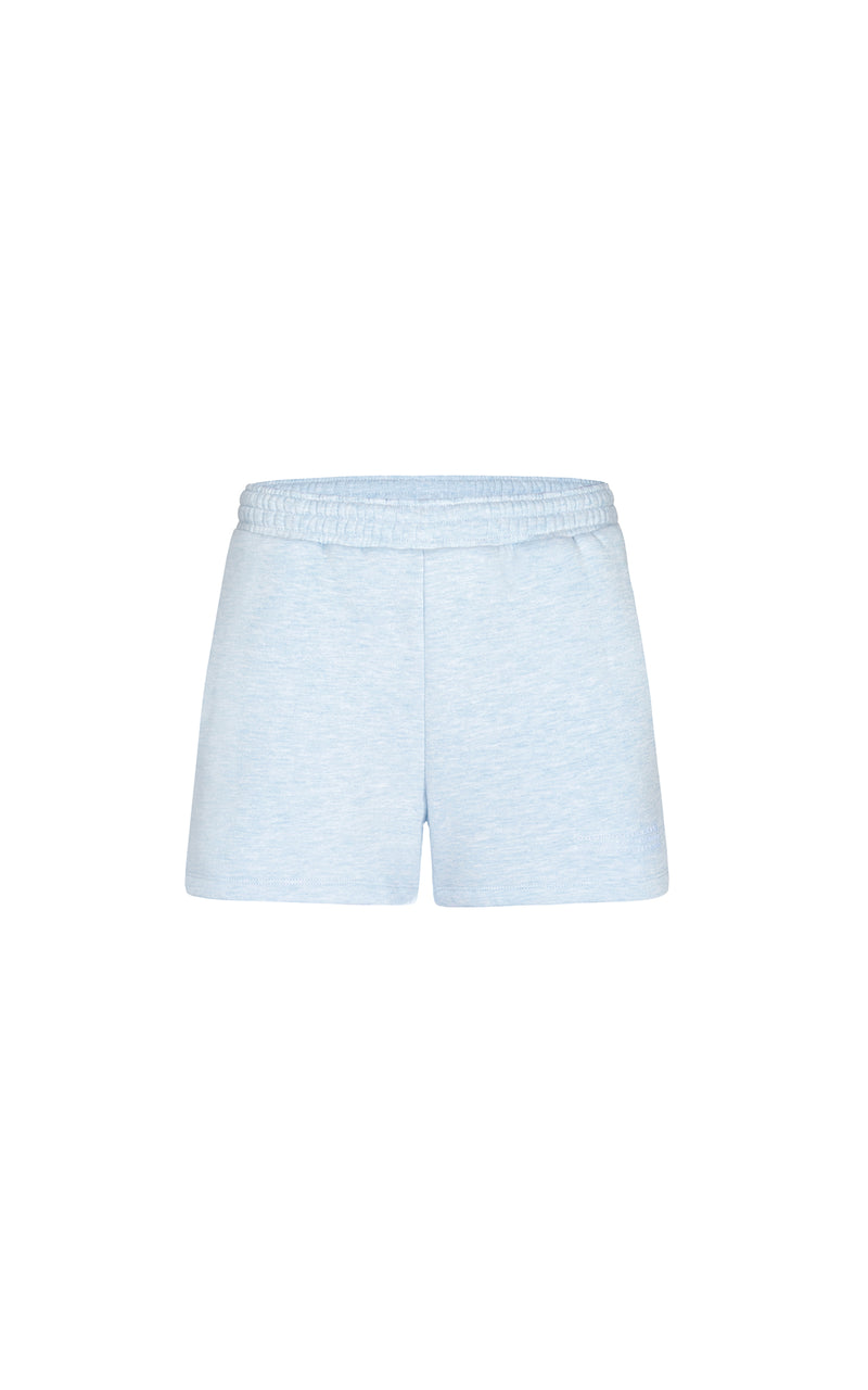LIGHT BLUE PASTEL CLUB WOMEN SHORTS