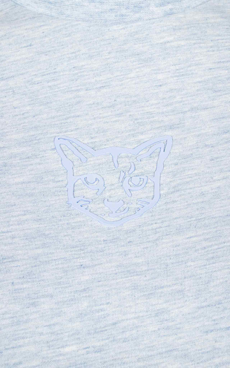 LIGHT BLUE PASTEL CLUB T-SHIRT