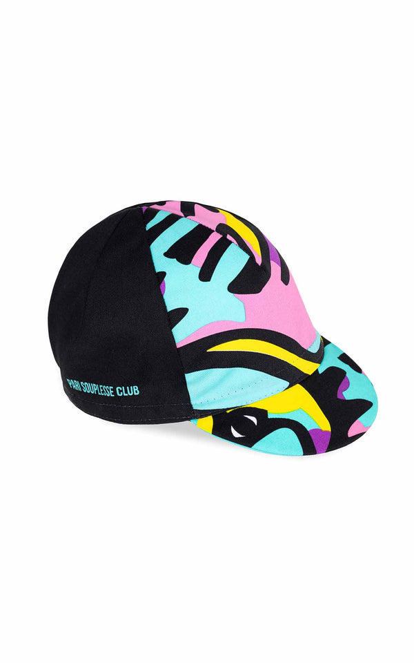 BLACK SOUPLESSE CLUB CYCLING CAP