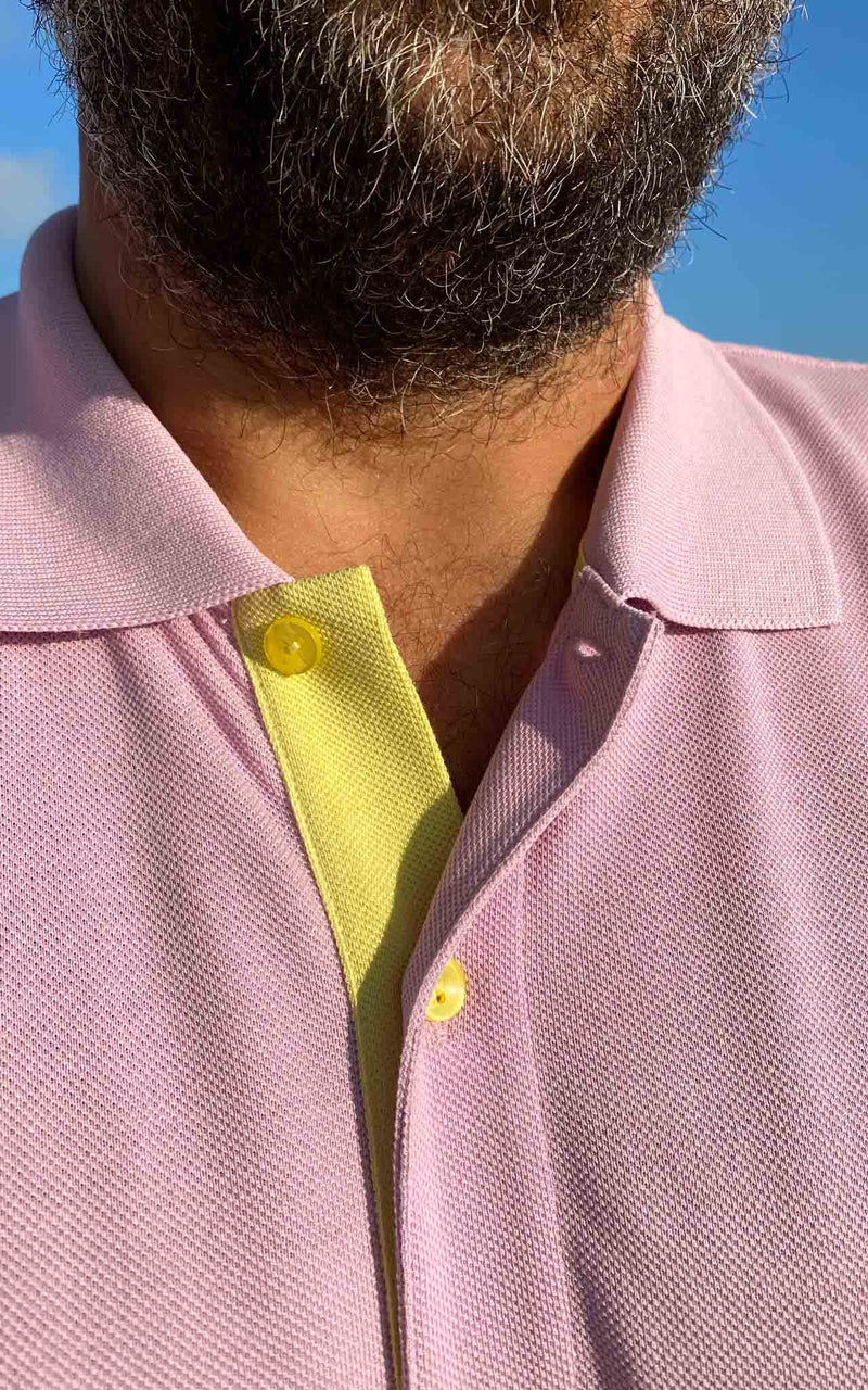 LILAC GOLF CLUB POLO SHIRT