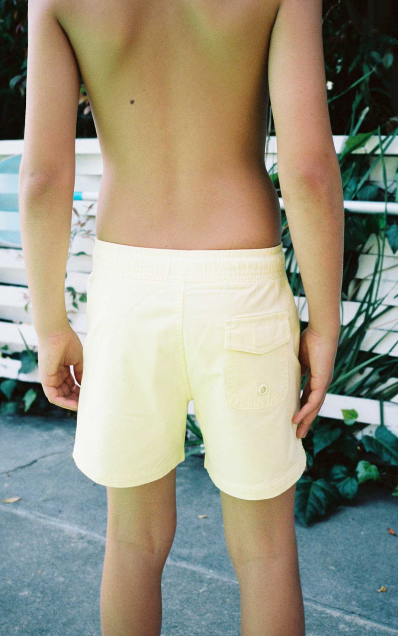 KIDS LEMONHAZE SWIM CLUB SHORTS