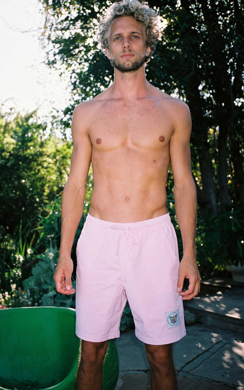 LILAC SWIM CLUB SHORTS