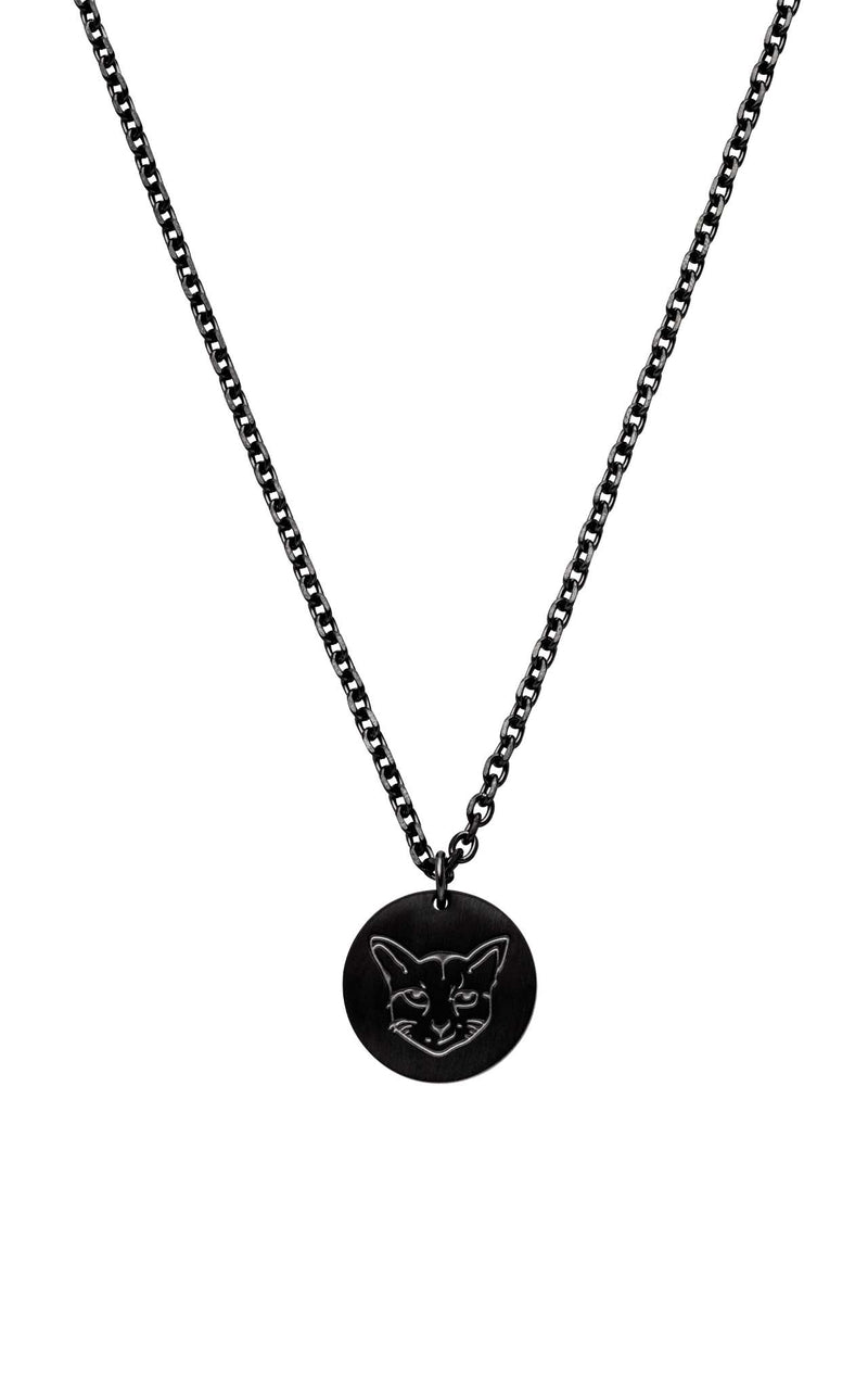 BLACK PURELEI X PARI NECKLACE COIN