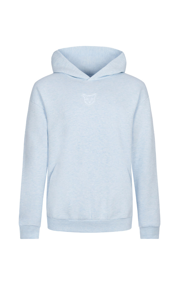 LIGHT BLUE PASTEL CLUB HOODIE