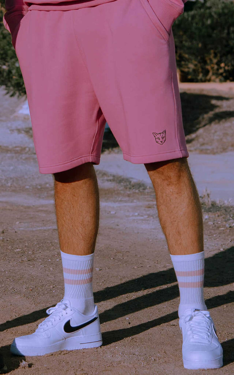 PINK SHORTS RUBBER CAT