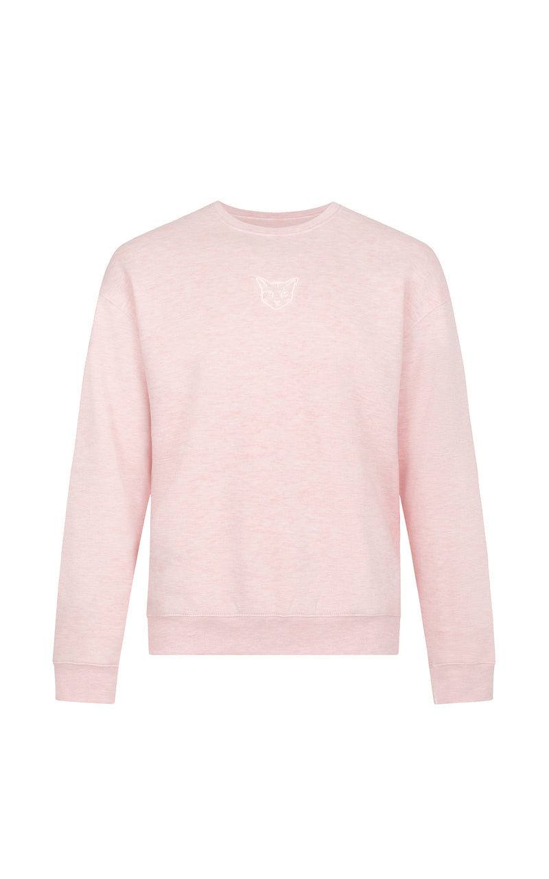ROSE PASTEL CLUB CREWNECK