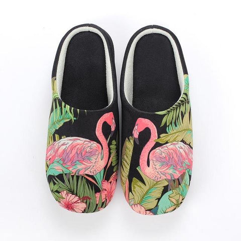 chausson fille flamant rose