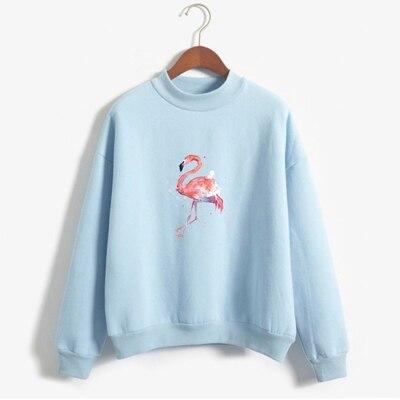 pull flamant rose femme