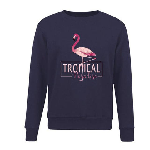 pull flamant rose homme