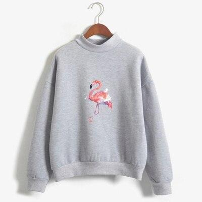sweat flamant rose femme