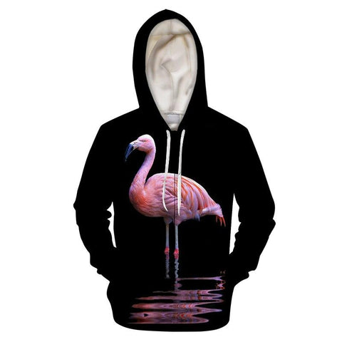sweat homme flamant rose