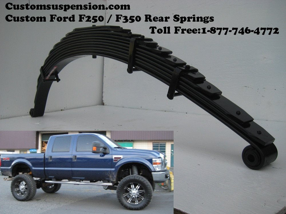 "Ford Superduty F-350 F-250 Front & Rear 12"" lift springs"