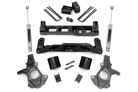 5IN GM SUSPENSION LIFT | KNUCKLE KIT (14-17 1500 PU 2WD)