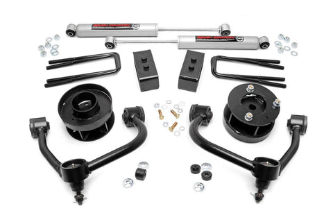 3IN FORD BOLT-ON ARM LIFT KIT (14-18 F-150 4WD)