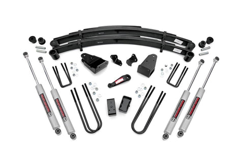 Ford 87-98 F250 4WD -- 4IN FORD SUSPENSION LIFT KIT