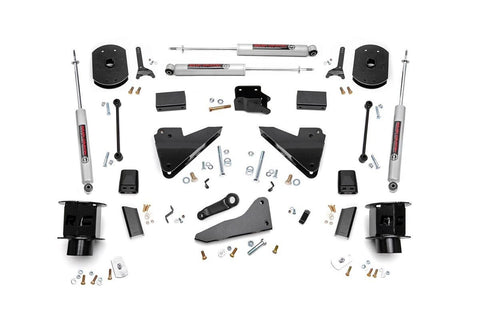 5IN DODGE SUSPENSION LIFT KIT | COIL SPACERS | RADIUS DROPS (14-18 RAM 2500 4WD)