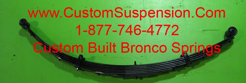 "Ford Bronco (1966-79) Rear Lift Springs 04"" - Pair"
