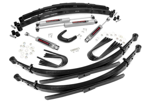 6IN GM SUSPENSION LIFT SYSTEM (52IN REAR SPRINGS)