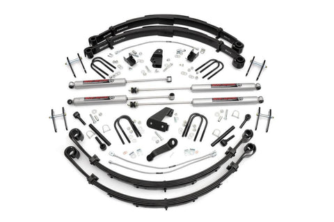 6IN JEEP SUSPENSION LIFT KIT (87-95 YJ WRANGLER)