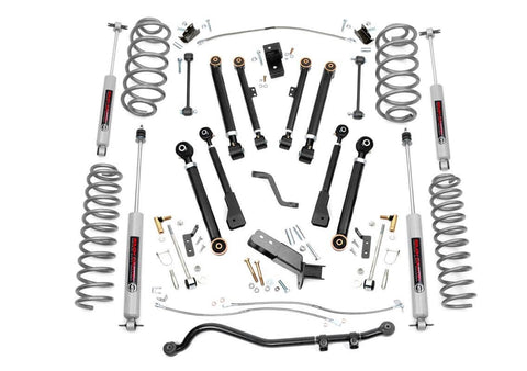 6IN JEEP X-SERIES SUSPENSION LIFT KIT (97-06 WRANGLER TJ)