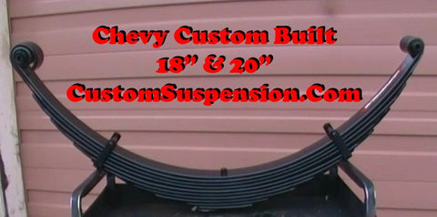 "Chevy/GMC 1973-87 1/2 & 3/4 Ton Front Lift Springs 18"" Lift - Pair"