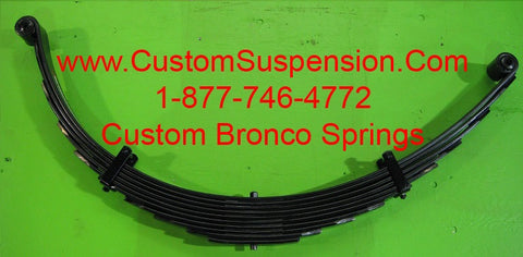 "Ford Bronco (1966-79) Rear Lift Springs 10"" - Pair"