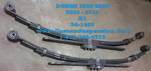 Dodge Ram 2500 3500 2003 2009 4wd Rear Leaf Spring Oem