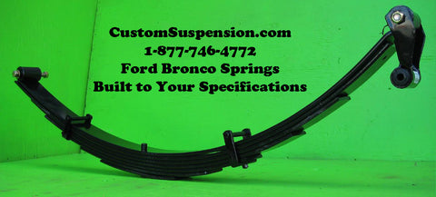"Ford Bronco (80-96) Rear Lift Springs 10"" - Pair"