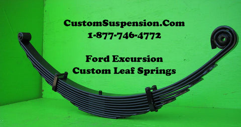 "Ford Excursion (1999 - 2005) Front Lift Springs 18"" - Pair"