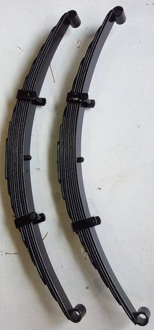 "Ford F1 Front Leaf Springs 2"" Lift 1948 - 1952  - Pair"