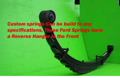"Ford F350 (1980-98) Front Lift Springs 10"" - Pair"