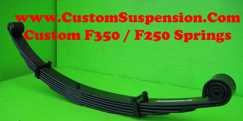 "Ford F250 (1980-98) Front Lift Springs 06"" - Pair"