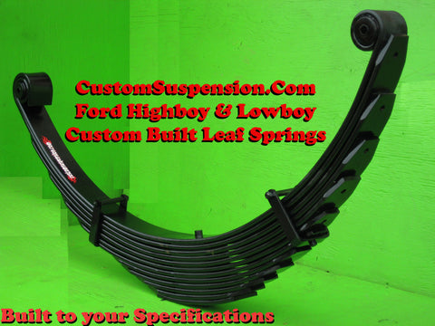 "Ford F250 1966-79 - Custom Front Lift Spring 18"" - Pair"