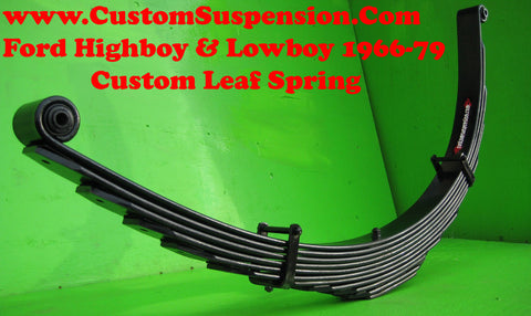 "Ford F250 1966-79 - Custom Rear Lift Springs 16""- Pair"