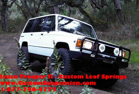"Isuzu Trooper II 1988 - 1991 Custom 02"" Rear Lift Springs -Pair"